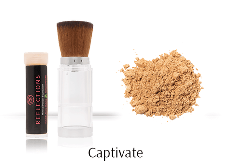 Mineral Powder Foundation (8g) - Captivate