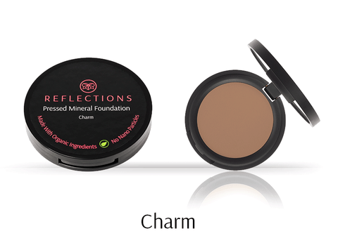 Pressed Mineral Foundation (12g) - Charm-Reflections Organics - Natural & Organic Makeup