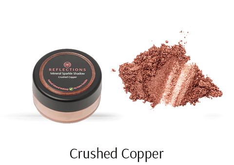 Mineral Sparkle Shadow (2g) - Crushed Copper-Reflections Organics - Natural & Organic Makeup