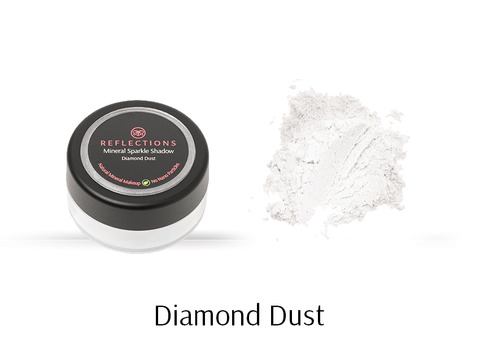 Mineral Sparkle Shadow (2g) - Diamond Dust-Reflections Organics - Natural & Organic Makeup