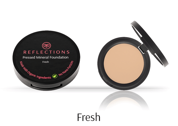 Pressed Mineral Foundation (12g) - Reflections Organics - Natural & Organic Makeup
