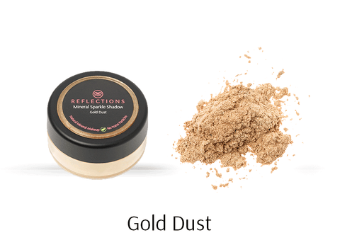 Mineral Sparkle Shadow (2g) - Gold Dust-Reflections Organics - Natural & Organic Makeup