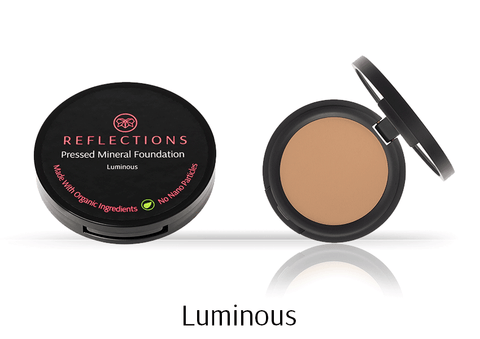 Pressed Mineral Foundation (12g) - Luminous