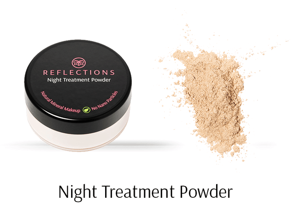 Night Treatment Powder (10g)-Reflections Organics - Natural & Organic Makeup