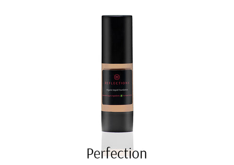 Organic Liquid Foundation (30ml) - Reflections Organics - Natural & Organic Makeup