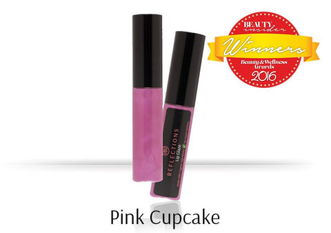 Lip Glaze (5ml) - Pink Cupcake-Reflections Organics - Natural & Organic Makeup