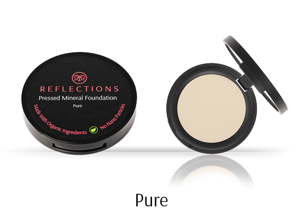Pressed Mineral Foundation (12g) - Pure