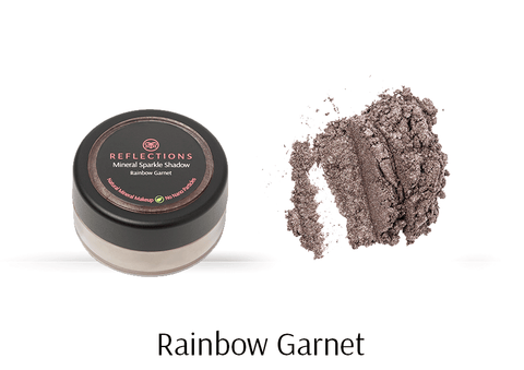 Mineral Sparkle Shadow (2g) - Rainbow Garnet-Reflections Organics - Natural & Organic Makeup
