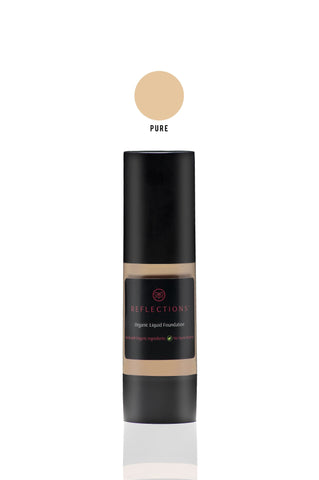 Organic Liquid Foundation (30ml) - Pure