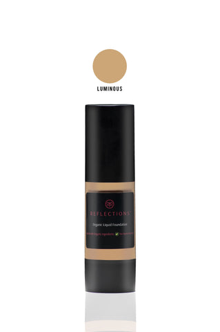 Organic Liquid Foundation (30ml) - Luminous