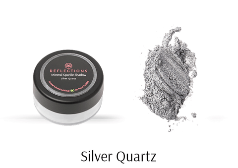 Mineral Sparkle Shadow (2g) - Silver Quartz-Reflections Organics - Natural & Organic Makeup