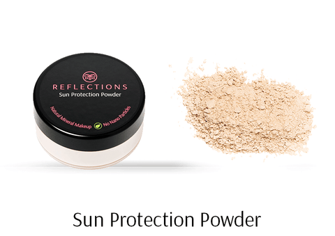 Sun Protection Powder (10g)-Reflections Organics - Natural & Organic Makeup
