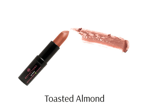 Lip Butter (4.5g) - Toasted Almond-Reflections Organics - Natural & Organic Makeup