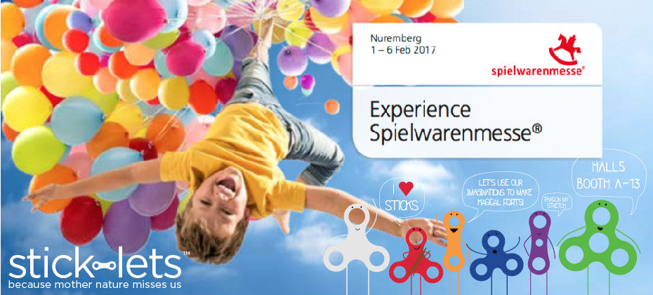 Stick-lets at Spielwarenmesse Toy Fair
