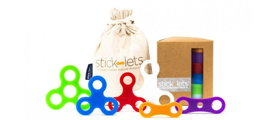 KIDOLO: Stick-lets Stick Connectors