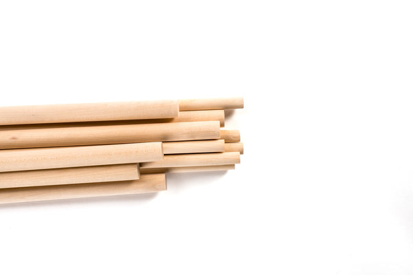 Birch Dowel Pack (12 pieces)