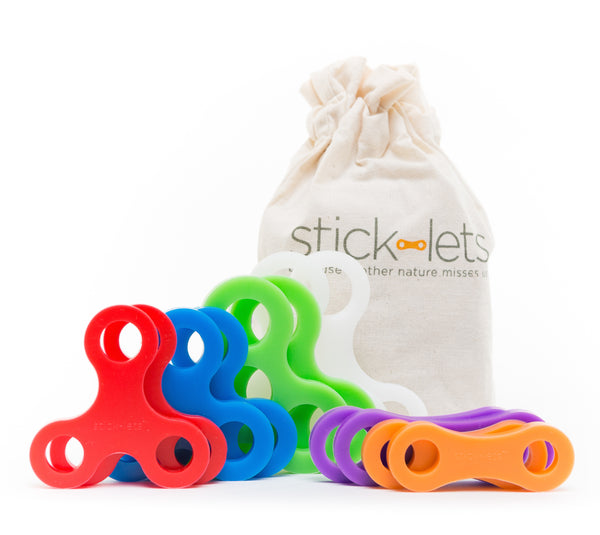 12pc. Stick-lets® Fort Set