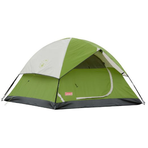 "2 Person Dome Tent by Coleman Sundome Tent 48"" w/ Rainfly Fly Sheet"