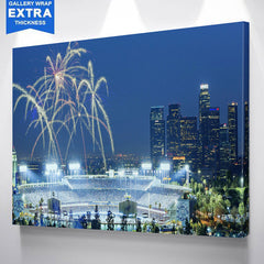 Los Angeles Dodgers Stadium Wall Art Canvas