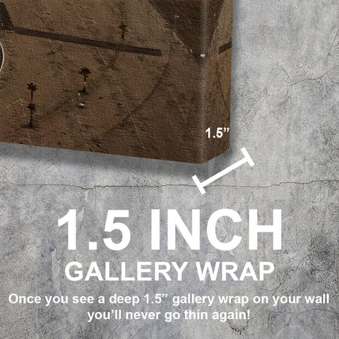Los Angeles Gallery Wraped Canvas