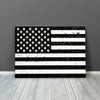 Image of American Black & White Flag