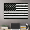 American Black & White Flag