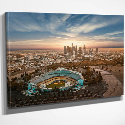 Chavez Ravine Canvas