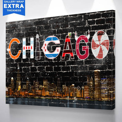 Chicago Southside Canvas