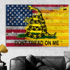 Image of Don't Tread On Me American Flag Wall Art