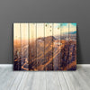 Image of Hollywood Sign Wood Wall Art Canvas