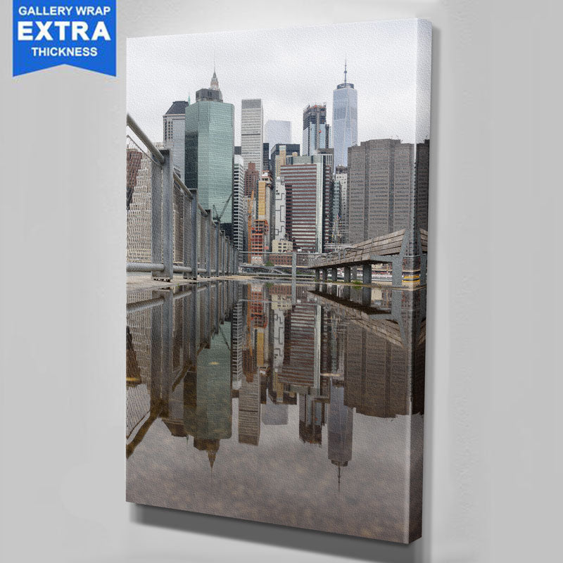 Reflection New York City Canvas