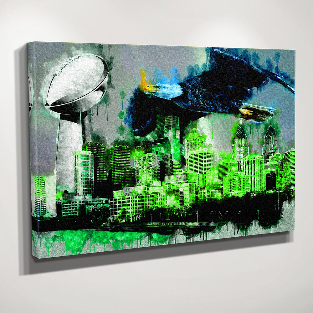 Philadelphia Championship Skyline Canvas