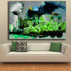 Image of Philadelphia Championship Skyline Canvas