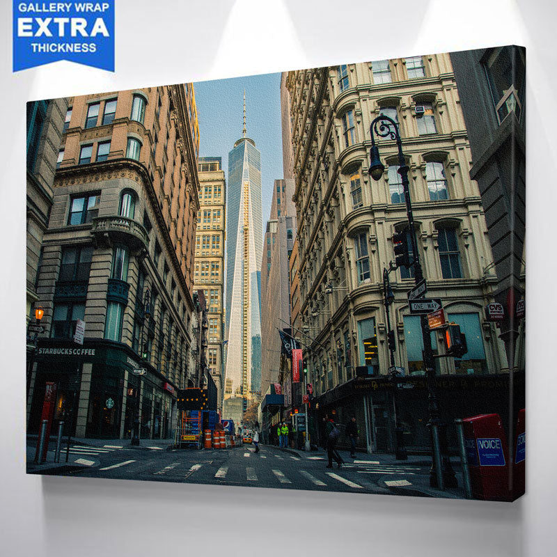 Street View One World Trade Center Canvas