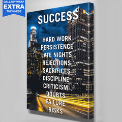 Success Los Angeles Canvas