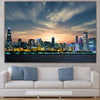 Image of Chicago Skyline Cubs World Series Wall Art