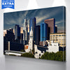 Image of Sunny Los Angeles Downtown Canvas