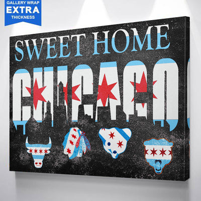 Sweet Home Chicago Chicago Canvas