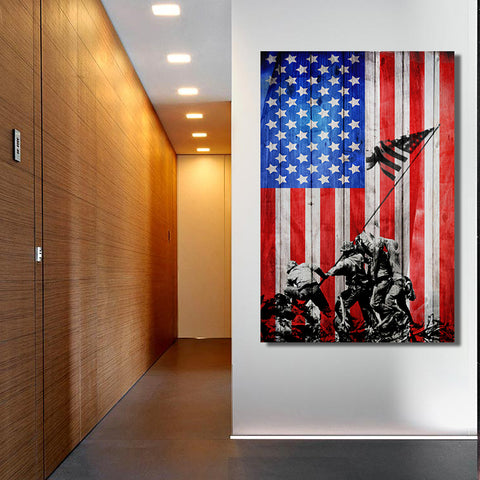 American Valor Canvas