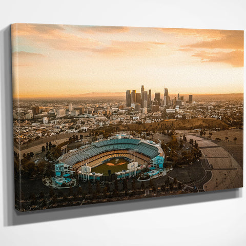 Los Angeles Skyline Wall Art