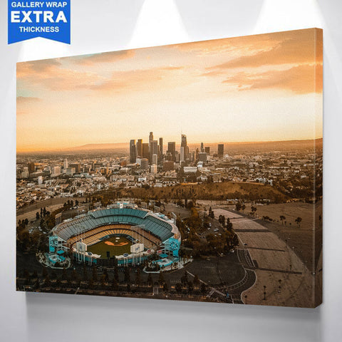 Amazing Los Angeles Skyline Canvas