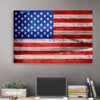 Image of American Flag Glow Art