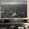 Image of Black & White Friendly Confines Canvas