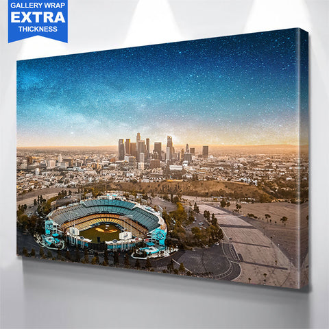 Brilliant Chavez Ravine Canvas