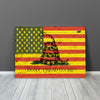 Image of American Flag Red & Yellow Don't Tread On Me