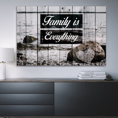Family is everything Wall Art