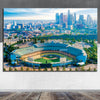 Image of Amazing LA Skyline Chavez Wall Art