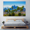 Image of Beautiful Los Angeles Skyline Wall Art Canvas