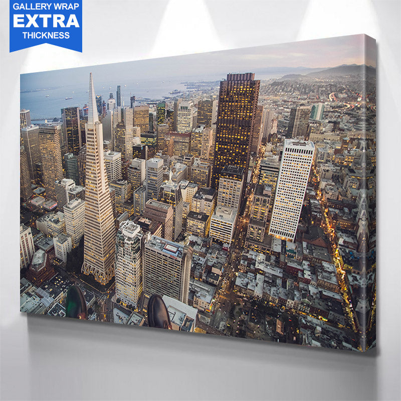 San Francisco Skyline Canvas