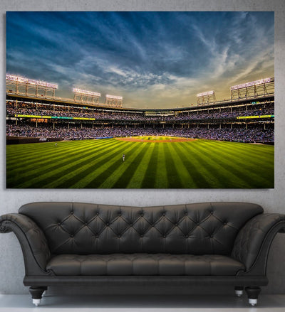 Wrigley field CANVAS